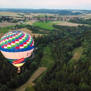 Dobrodružný let balónom