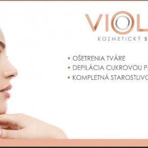Kozmetický salón Violet v Trenčíne